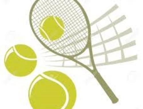De inschrijving voor de winter tennislessen is  open